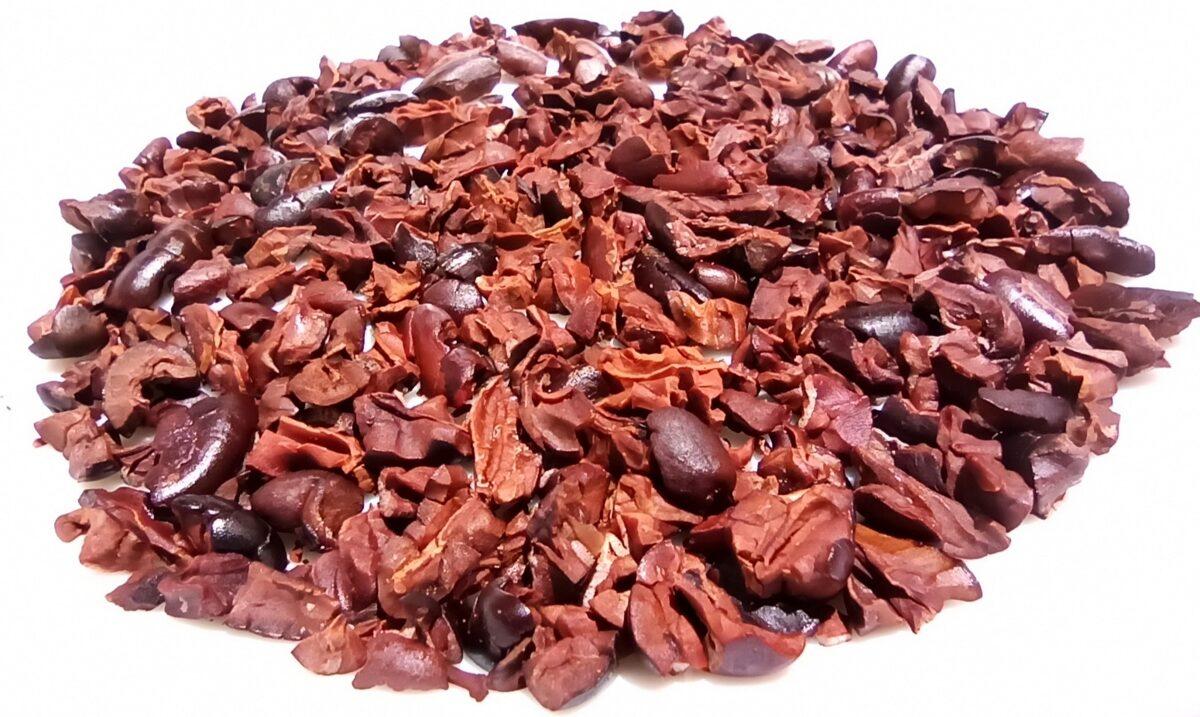 Nibs (trocitos) de Cacao tostado, 100g