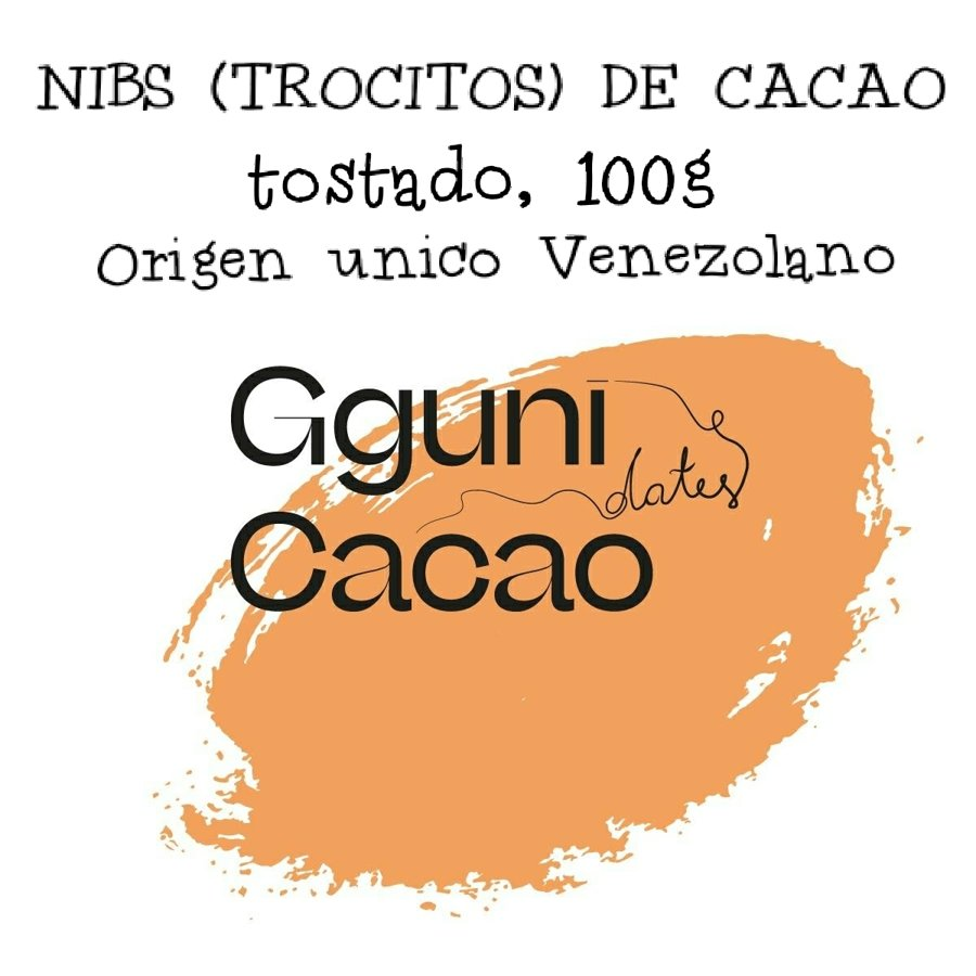 Toasted Cacao Nibs, 100g